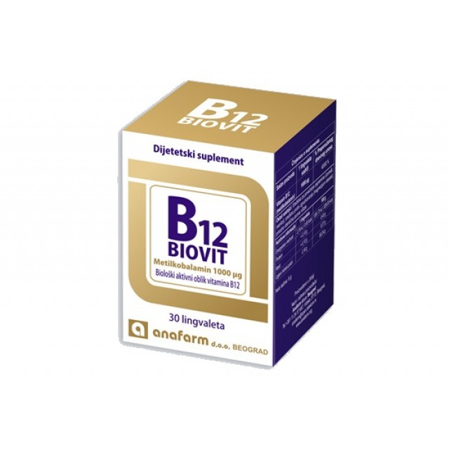 B12 BIOVIT LINGVALETE A30